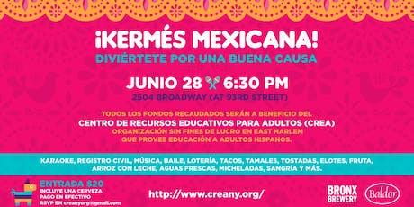 ¡Kermés Mexicana! tickets