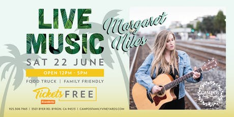 Live Music - Margaret Niles tickets