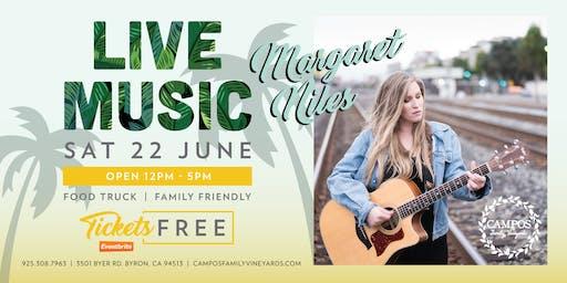 Live Music - Margaret Niles