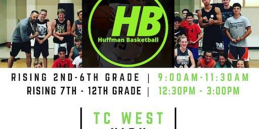 TRAVERSE CITY WEST | HUFFMAN BASKETBALL CAMP  | 2ND - 12th GRADE BOYS/GIRLS