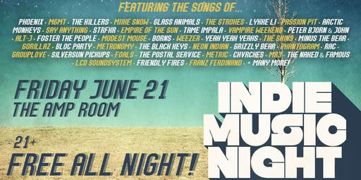 Indie Music Night on The Strip (FREE)