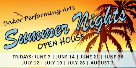 JULY 19: Summer Nights! Vendor Fair Application tickets