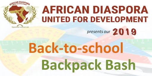 2019 Back-to-School Backpack Bash