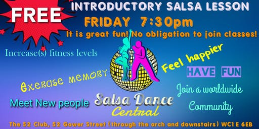 FREE introductory Salsa class