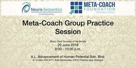 Meta-Coach Group Practice Session - June 2019 tickets