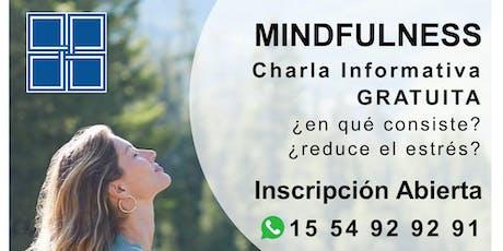 MINDFULNESS - Charla Informativa GRATUITA entradas