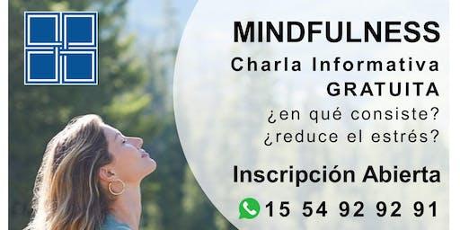 MINDFULNESS - Charla Informativa GRATUITA