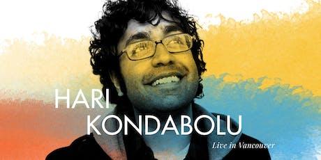 ISF2019: Hari Kondabolu Live in Vancouver tickets