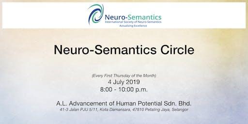 Neuro-Semantics Circle - July 2019