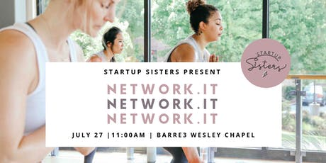 Network.It Fitness for Entrepreneurs ⚡ Barre for Lady Bosses tickets