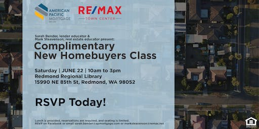 Complimentary New Homebuyers Class:  Down Payment Assistance Programs Unlocked