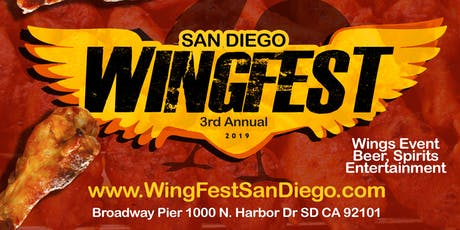 Wing Fest San Diego 2019 3rd Annual tickets