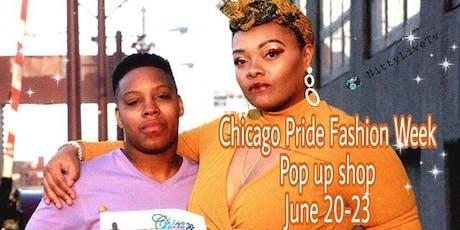CHICAGO PRIDE FASHION WEEK SHOW POP UP SHOP  tickets