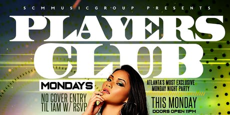 PLAYERS CLUB MONDAYS @ AURUM LOUNGE tickets