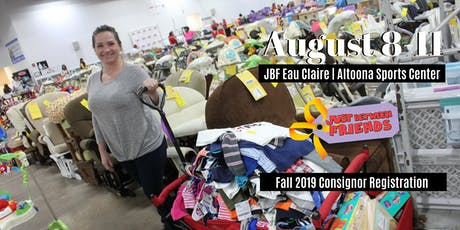 JBF Fall Eau Claire/Altoona 2019 Consignor Reservation tickets