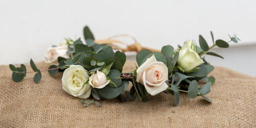 Daisy Jane's Flower Crown Class at Thimble Gardens