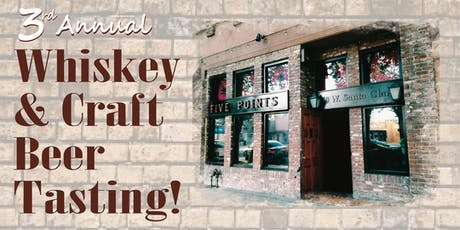 2019 Whiskey & Craft Beer Tasting tickets