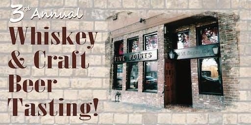 2019 Whiskey & Craft Beer Tasting