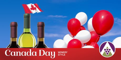 Canada Day Winery Style 2019 tickets