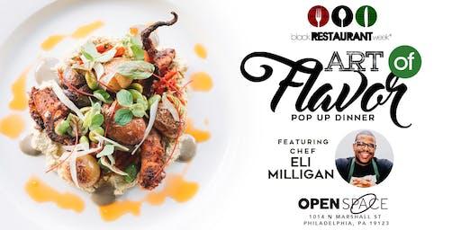 Art of Flavor: Philadelphia Pop Up Dinner 2019
