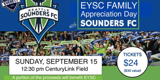 EYSC Family Appreciation Day (Sounders Game!)