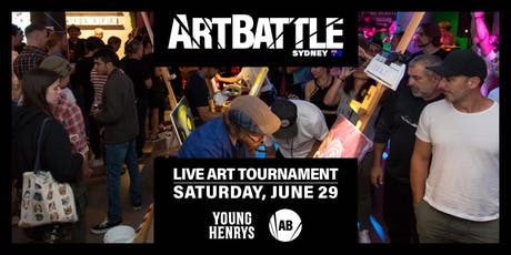 Art Battle Sydney - 29 June, 2019 tickets