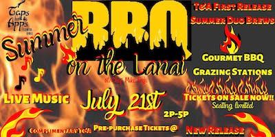 Taps Summer BBQ on the Lanai