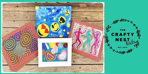 "Northborough 6-9 Year Old ""Art Theme"" Summer Workshop"