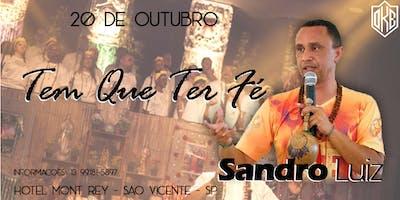 Show Sandro Luiz em São Vicente