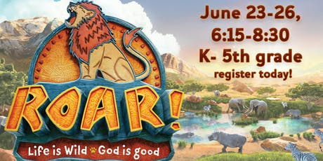 Roar VBS @City Light Baptist Church tickets