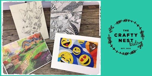 "Northborough 10-13 Year Old ""Art Theme"" Summer Workshop"