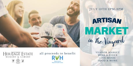 Artisan Market in the Vineyard tickets