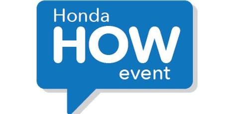 Honda HOW Event - Honda of the Avenues tickets