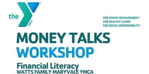 Money Talks-Financial Literacy Workshop