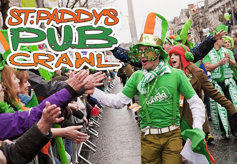 "Boston ""Luck of the Irish"" Pub Crawl St Paddy's Weekend 2020 [Faneuil Hall]"