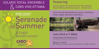 Serenade to Summer - A CHEO Benefit Concert