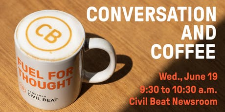 Conversation And Coffee tickets