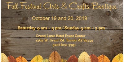 Fall Festival Arts & Crafts Bootique