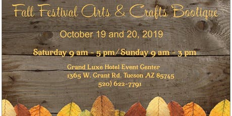 Fall Festival Arts & Crafts Bootique tickets