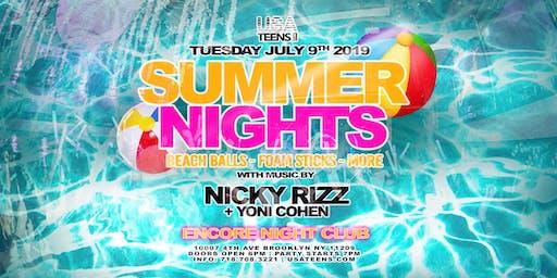 SUMMER NIGHTS - BROOKLYN, NY | 7.9.19