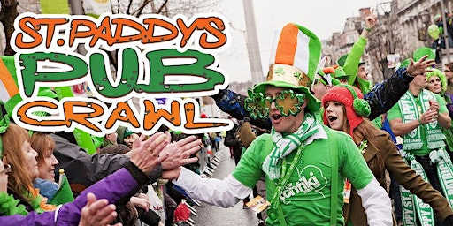 "New York City ""Luck of the Irish"" Pub Crawl St Paddy's Weekend 2020"