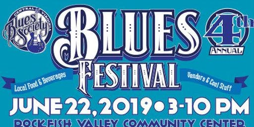 4th Annual Central Virginia Blues Society Festival