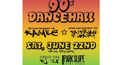 Alicat's 90's Dancehall Bashment in Park Slope  tickets