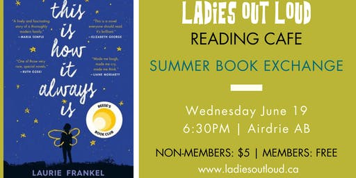 LOL Reading Cafe - SUMMER BOOK EXCHANGE (Non Members)