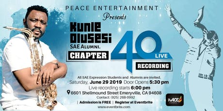 Kunle Olusesi - Chapter 40 Live Recording tickets