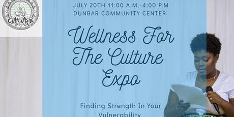 Wellness for the Culture EXPO! tickets