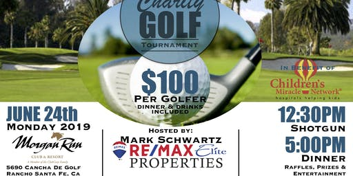 RE/MAX Elite Properties Charity Golf Tournament for Rady's Childrens Hospital