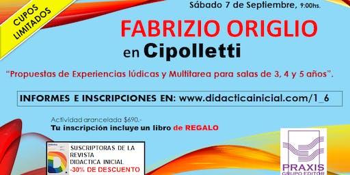 """CIPOLLETTI - """"Propuestas de Experiencias lúdicas y Multitarea para 3,4 y 5"""""""