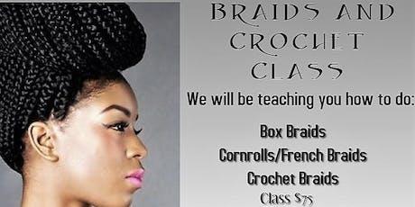 BRAIDS, CROCHET and WEAVE INSTALLATION WORKSHOP tickets