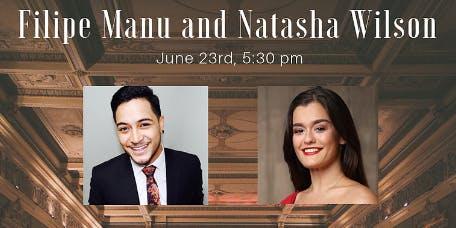 'A night at the Opera' Auckland Opera Studio - Filipe Manu & Natasha Wilson